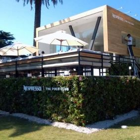 Jardín vertical Nespresso